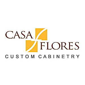 casa flores custom cabinetry logo